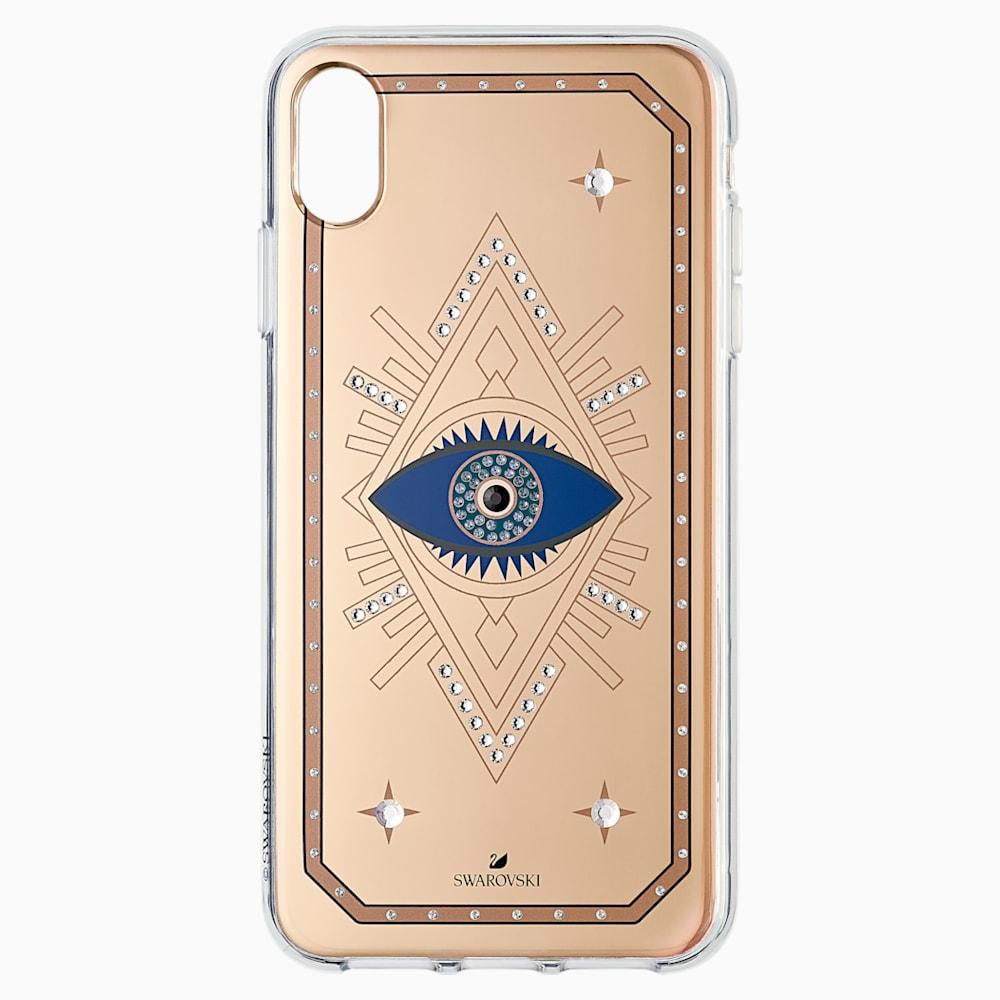 Tarot Eye Smartphone Case, iPhone XS Max, Pink Gold