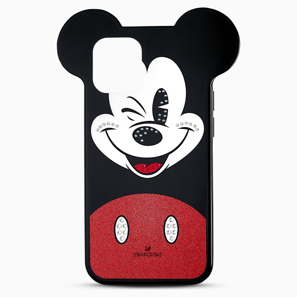 Swarovski Mickey Smartphone case, iPhone 12 mini, Multicolored