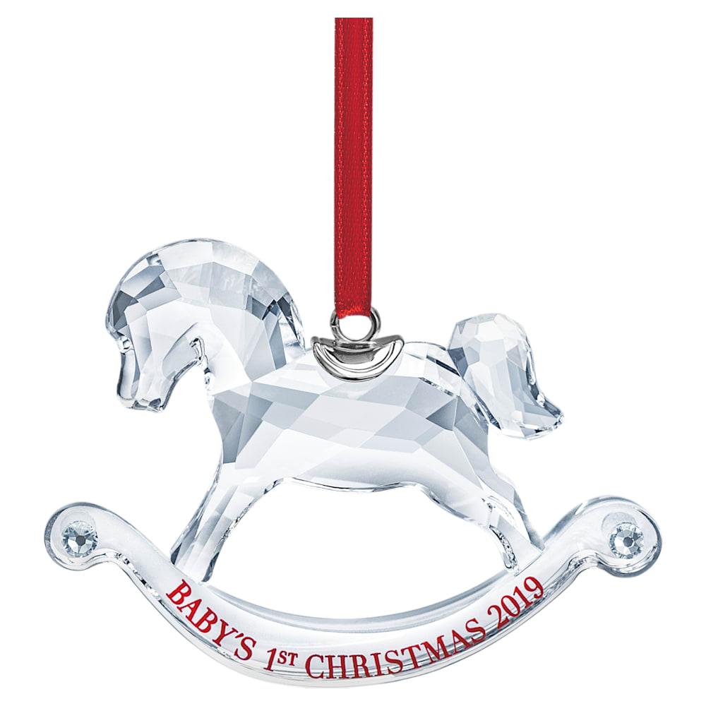 Décoration Premier Noël de Bébé, Édition Annuelle 2019