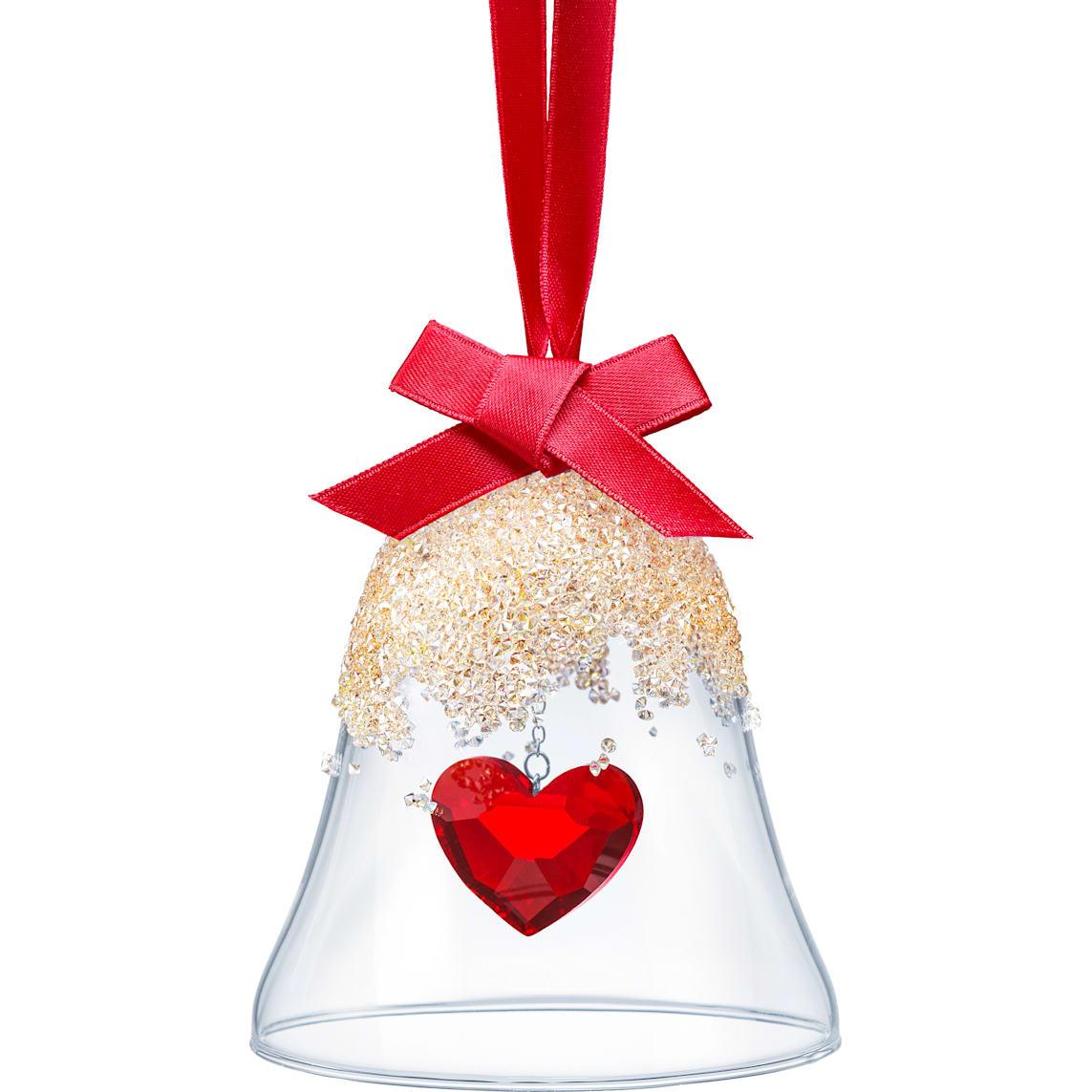 Christmas Bell.Christmas Bell Ornament Heart