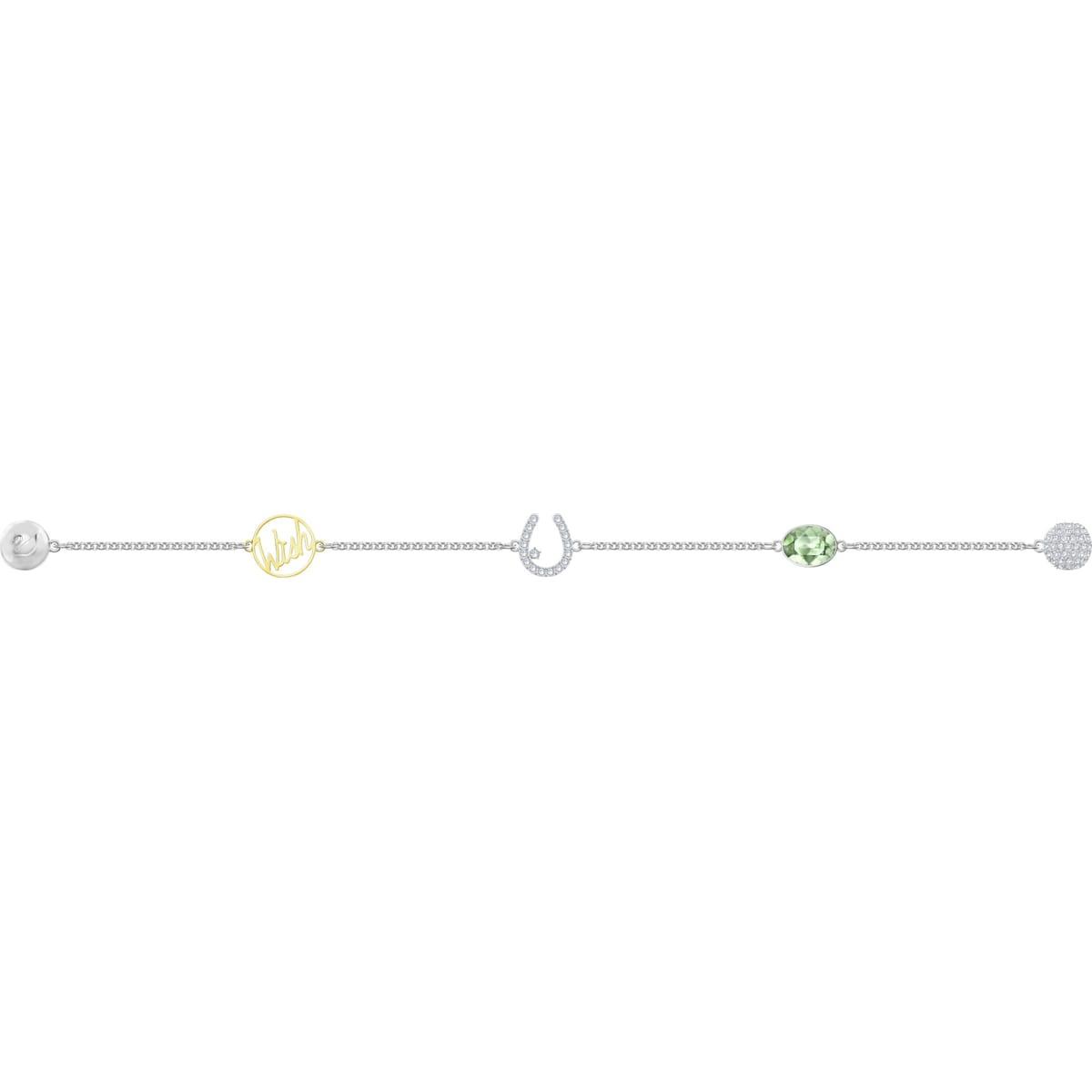 c95dda21e9749 Swarovski Remix Collection Wish Strand, White, Mixed metal finish