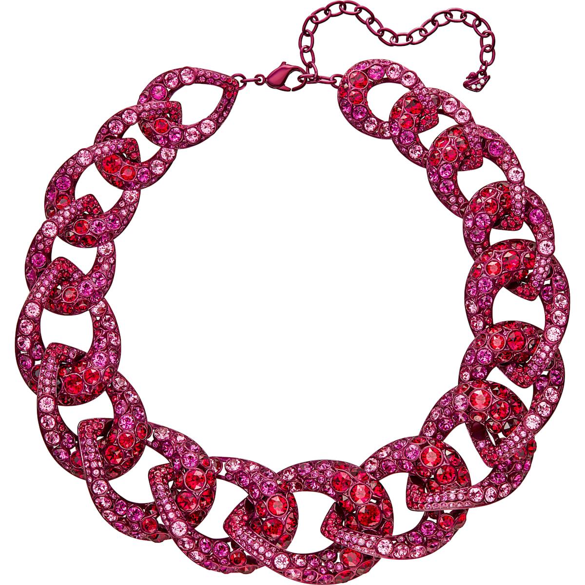 Tabloid Halskette, mehrfarbig