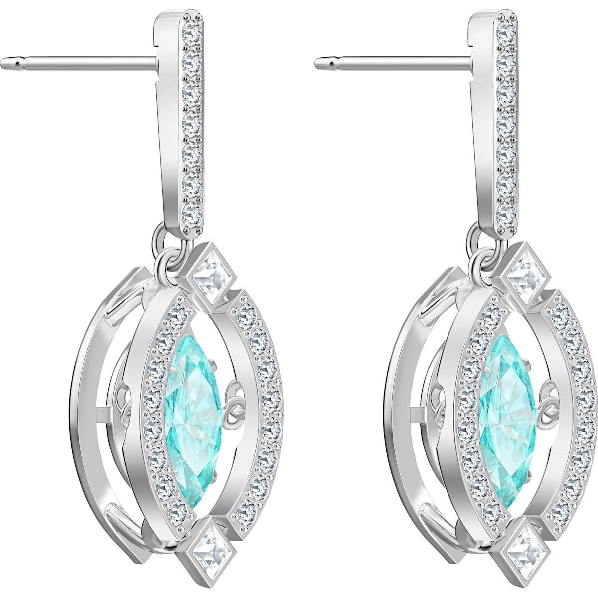 Swarovski Sparkling Dance Rainbow Pierced Earrings, Light