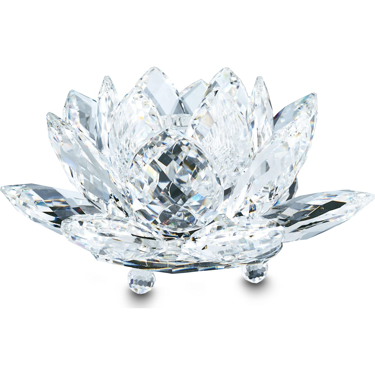 Swarovski Waterlily Candleholder, large