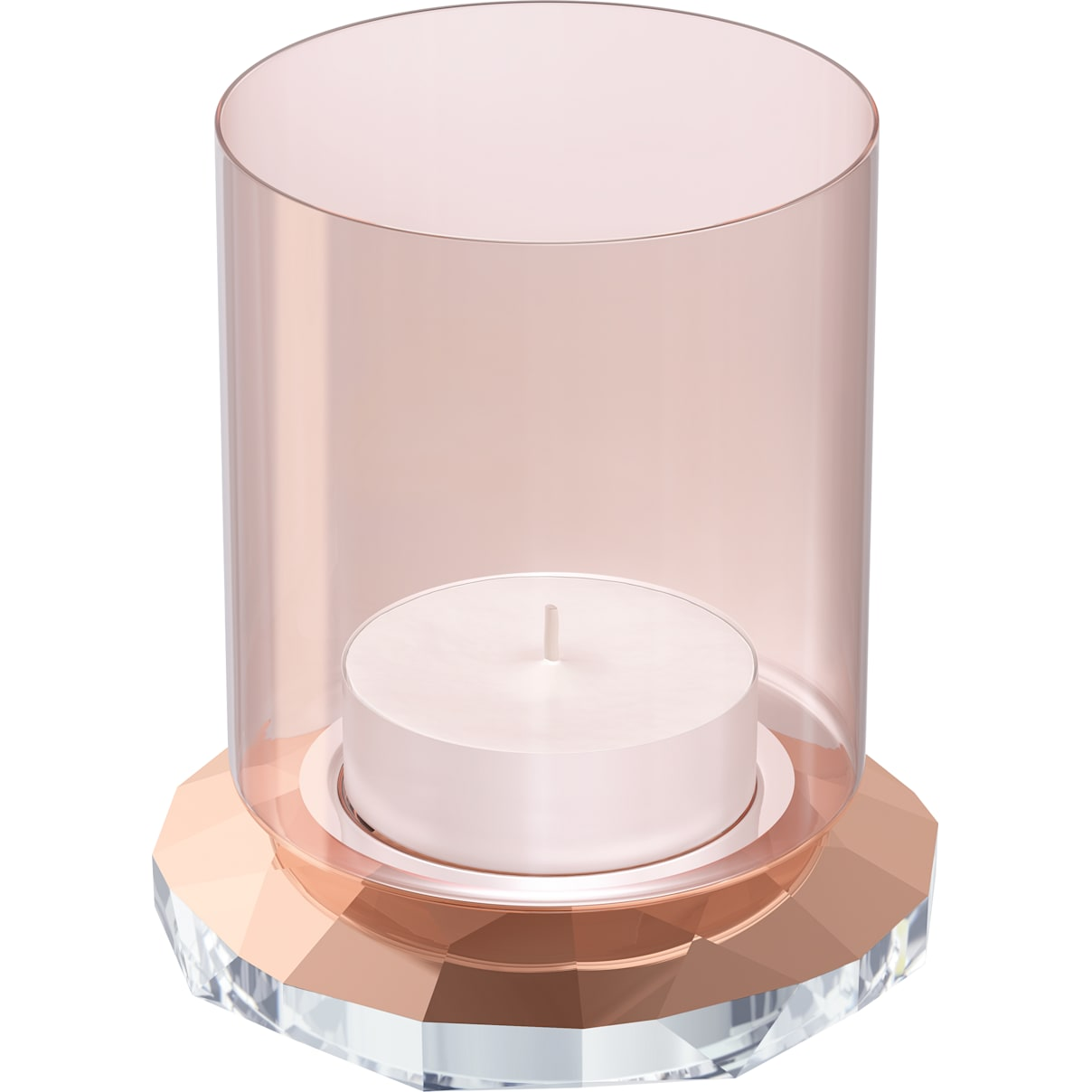Swarovski Allure Tea Light, Rose Gold ToneSwarovski Allure Tea Light, Rose Gold Tone