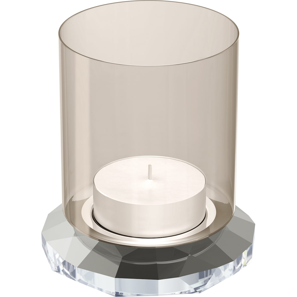 Swarovski Allure Tea Light, Silver Tone