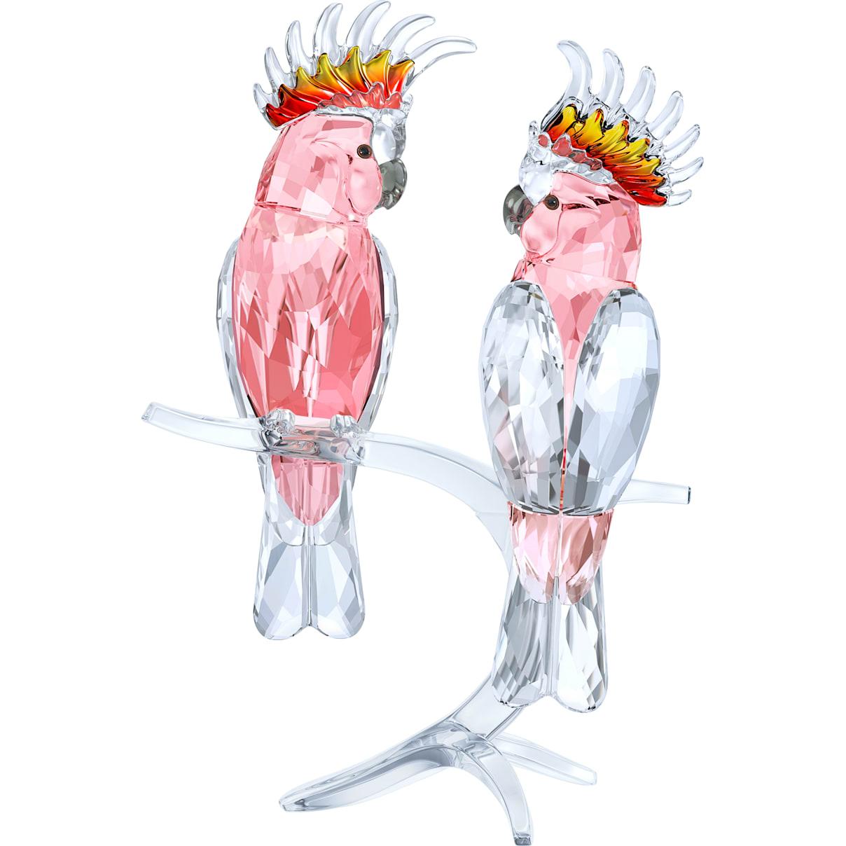 Swarovski Pink Cockatoos