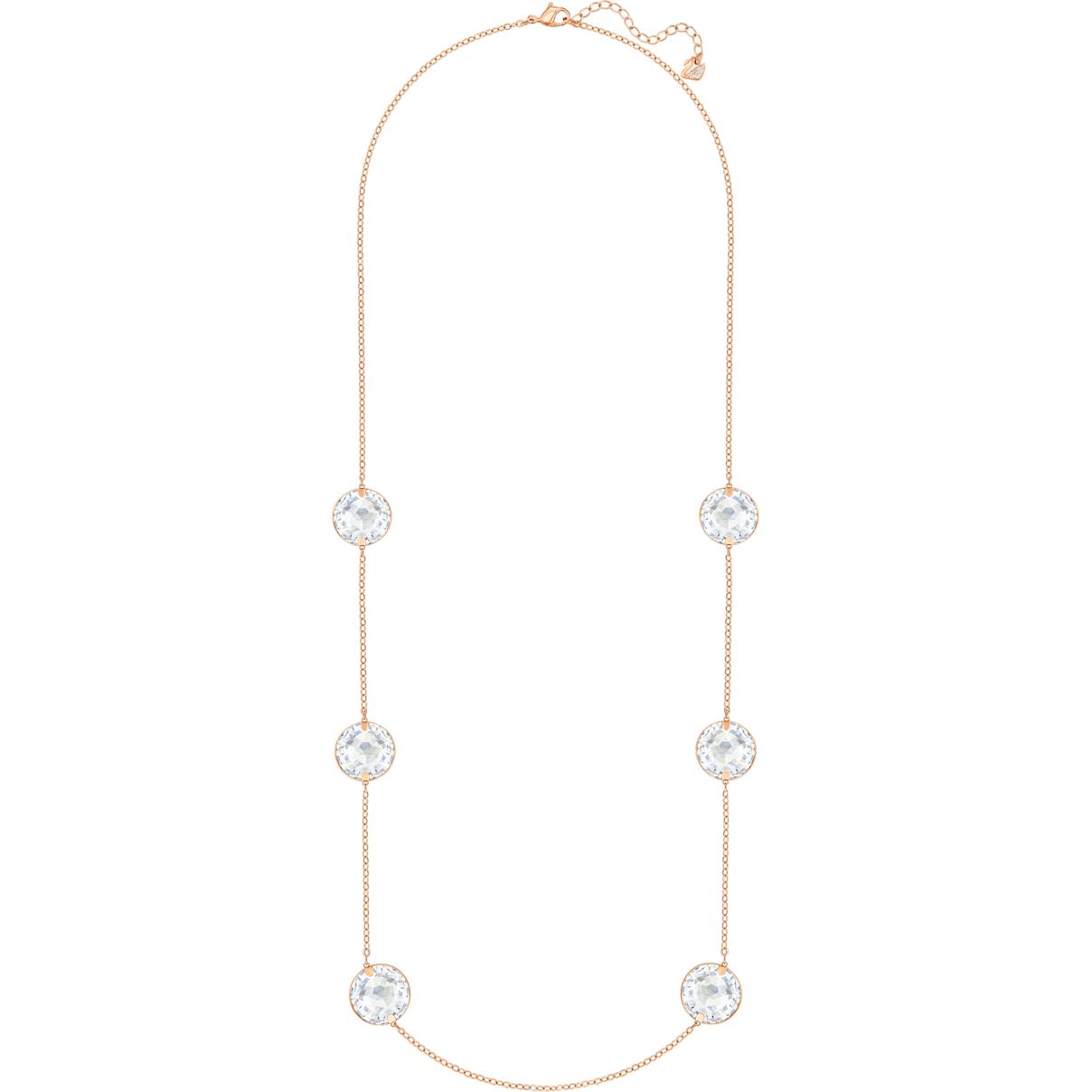 Swarovski Globe Strandage, White, Rhodium plating