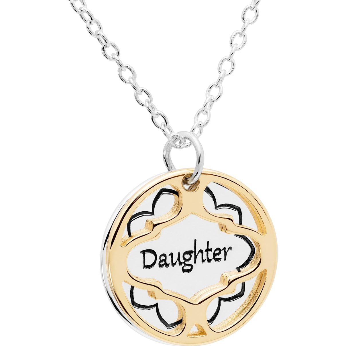 Swarovski Treasure Necklace - Daughter