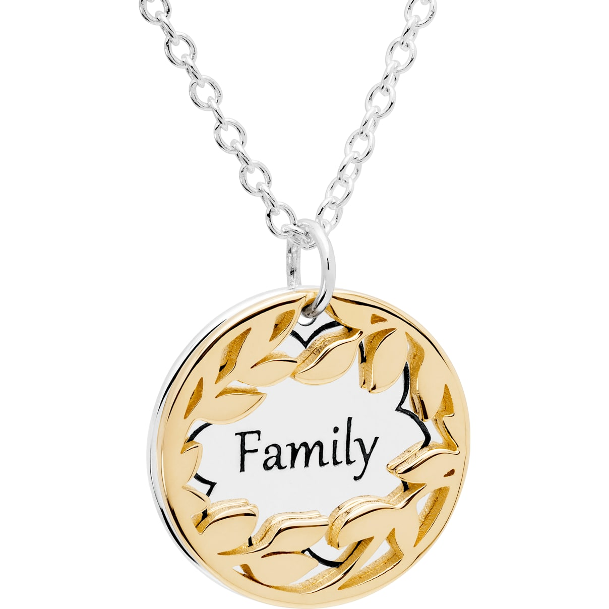 Swarovski Treasure Necklace - Family