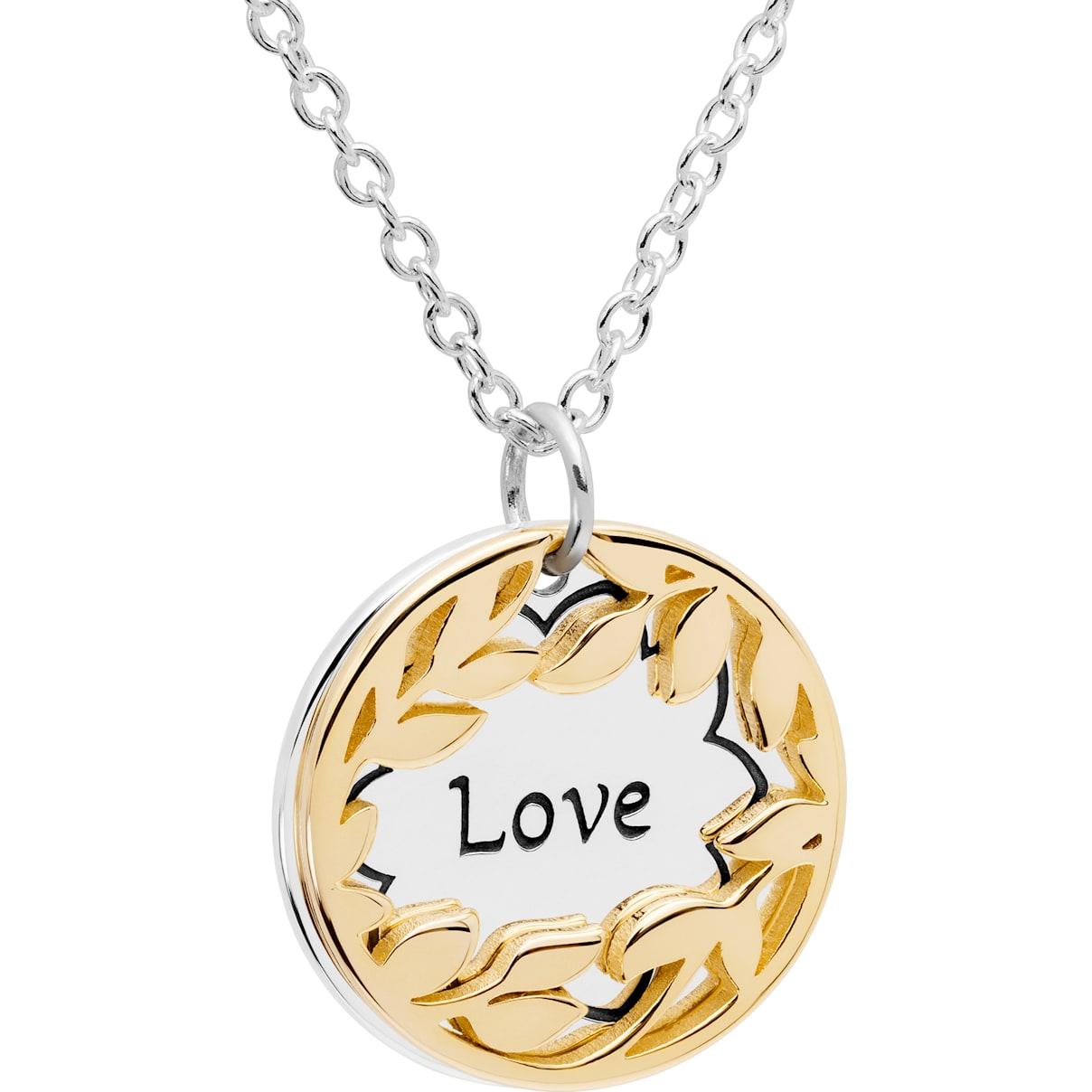 Swarovski Treasure Necklace - Love