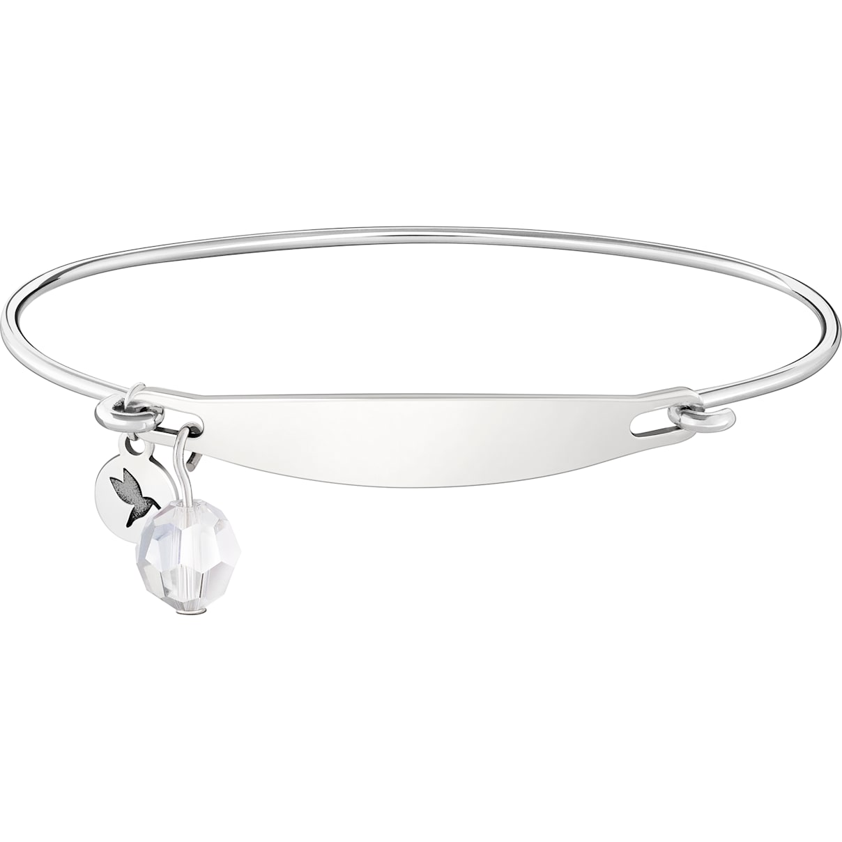Swarovski Engravable ID Bangle