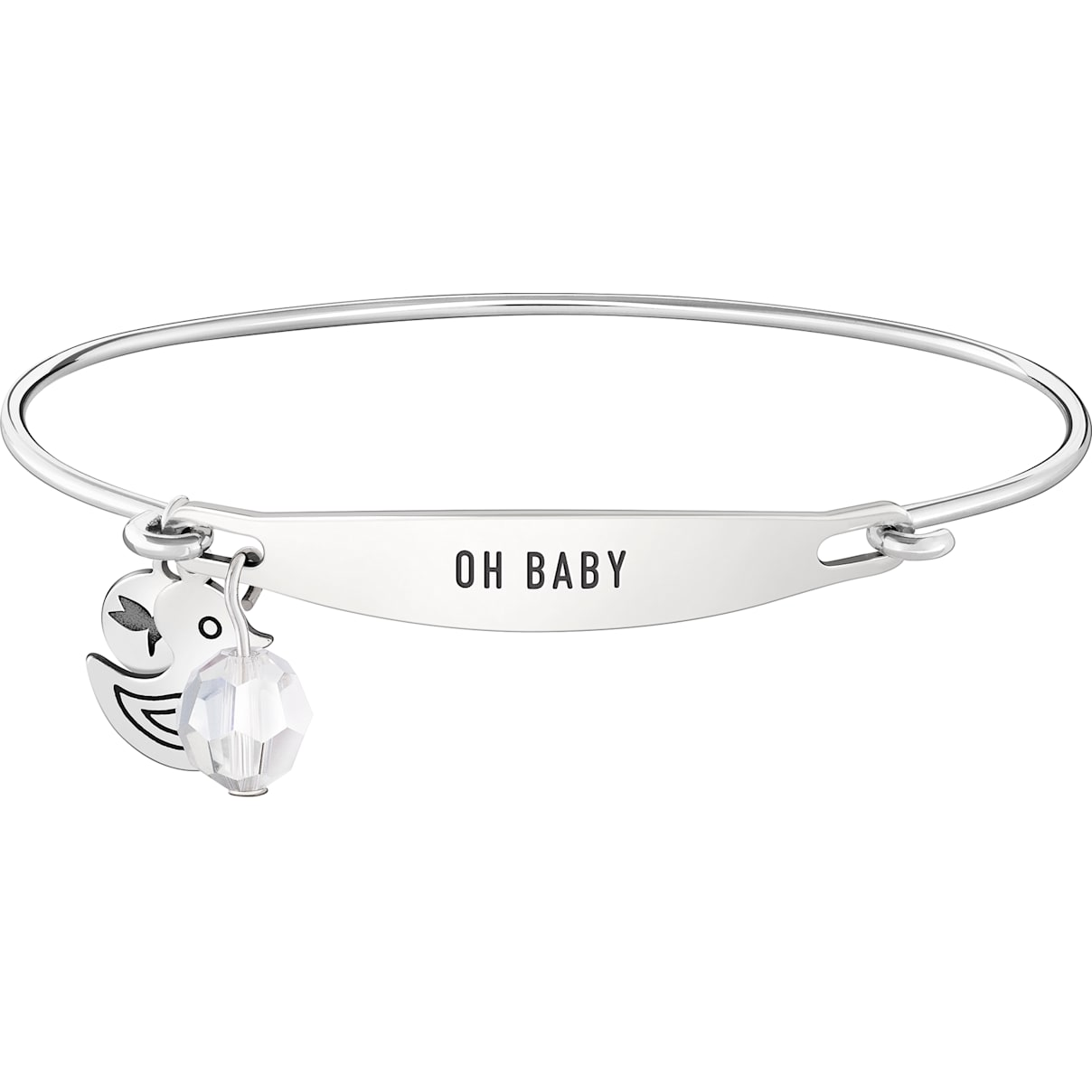 Swarovski Oh Baby ID Bangle