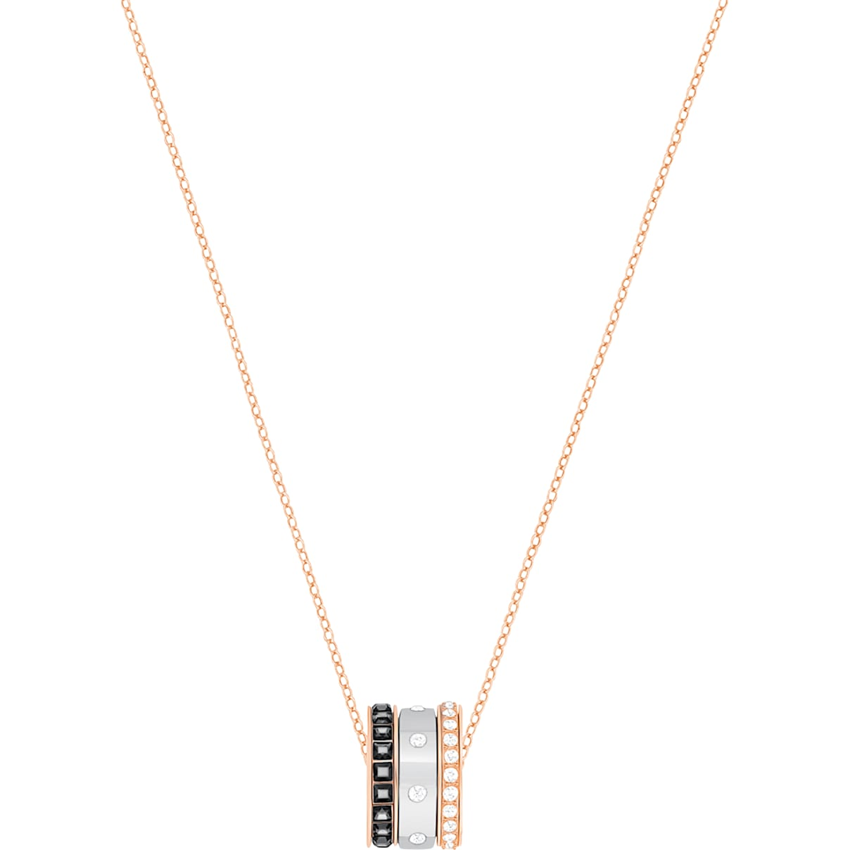 Swarovski Hint Pendant, Multi-colored, Mixed metal finish