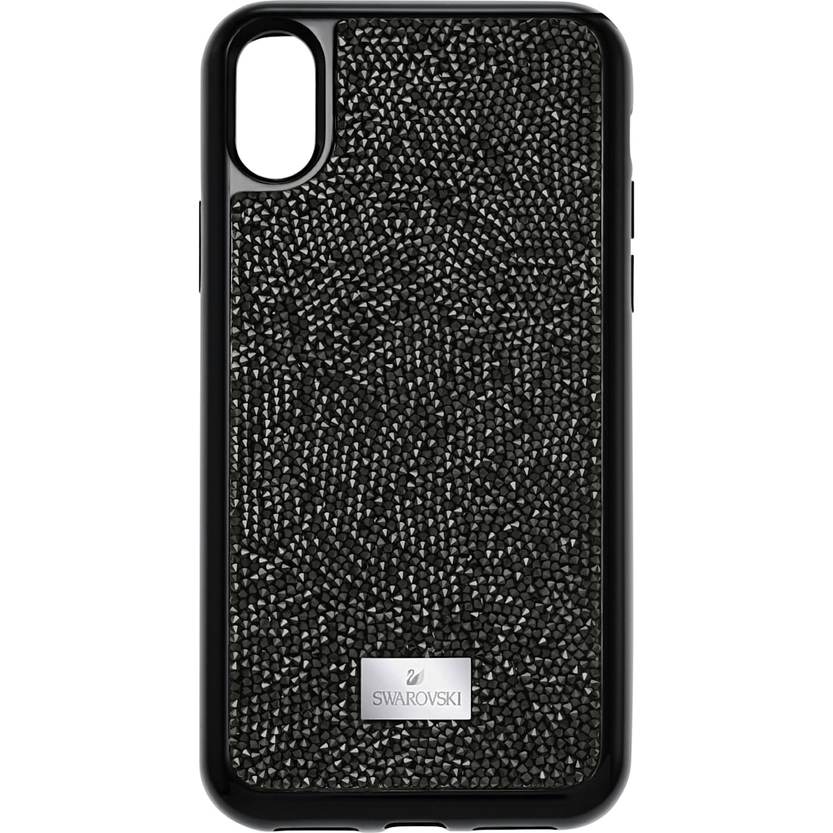 Swarovski Glam Rock Smartphone Case with integrated Bumper, iPhone® X/XS, Black