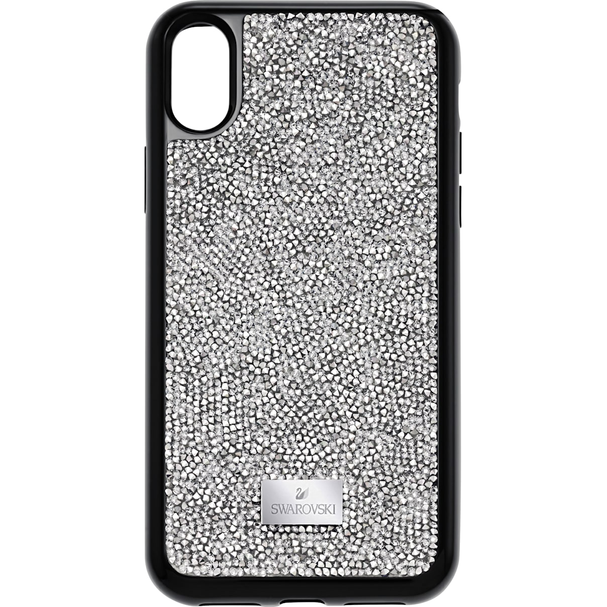 Swarovski Glam Rock Smartphone Case with integrated Bumper, iPhone® X/XS, Gray