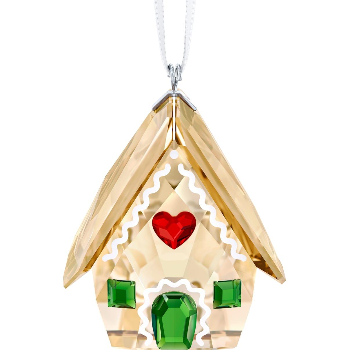 Swarovski Gingerbread House Ornament