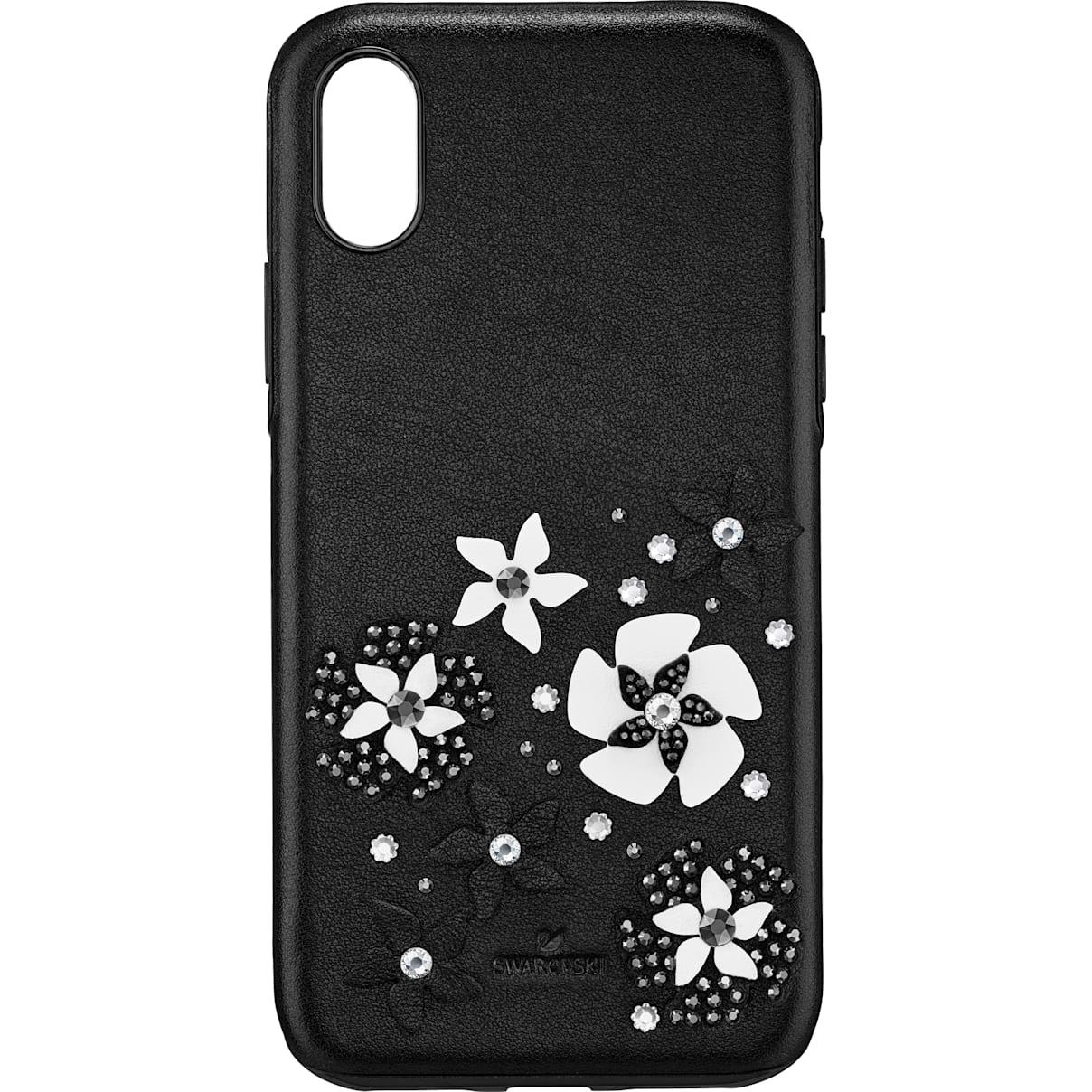 Mazy Smartphone Schutzhülle mit integriertem Stoßschutz, iPhone® X/XS, schwarz