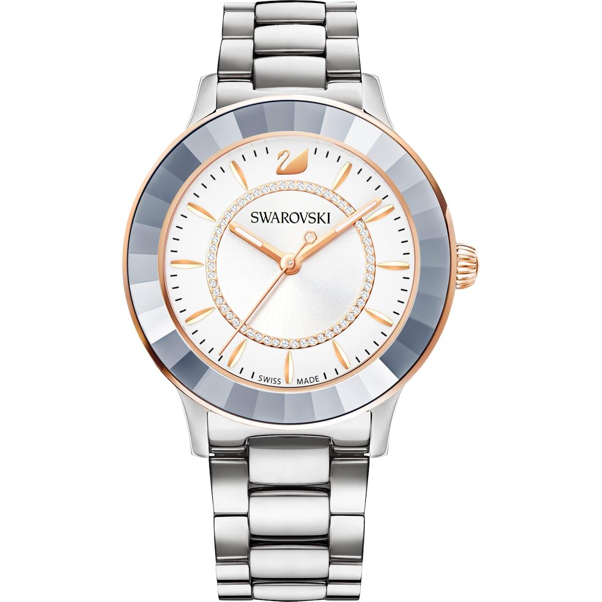 Swarovski Octea Lux Watch, Metal bracelet, Stainless steel