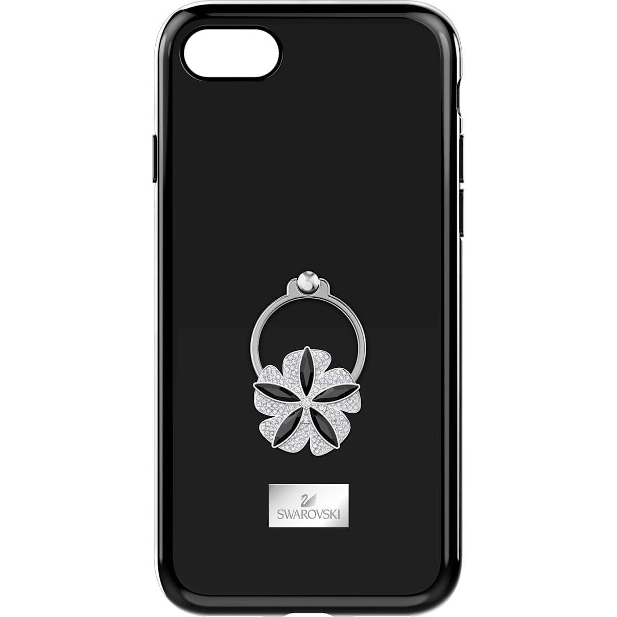 Swarovski Mazy ring Smartphone Case with integrated Bumper, iPhone® 8, Black