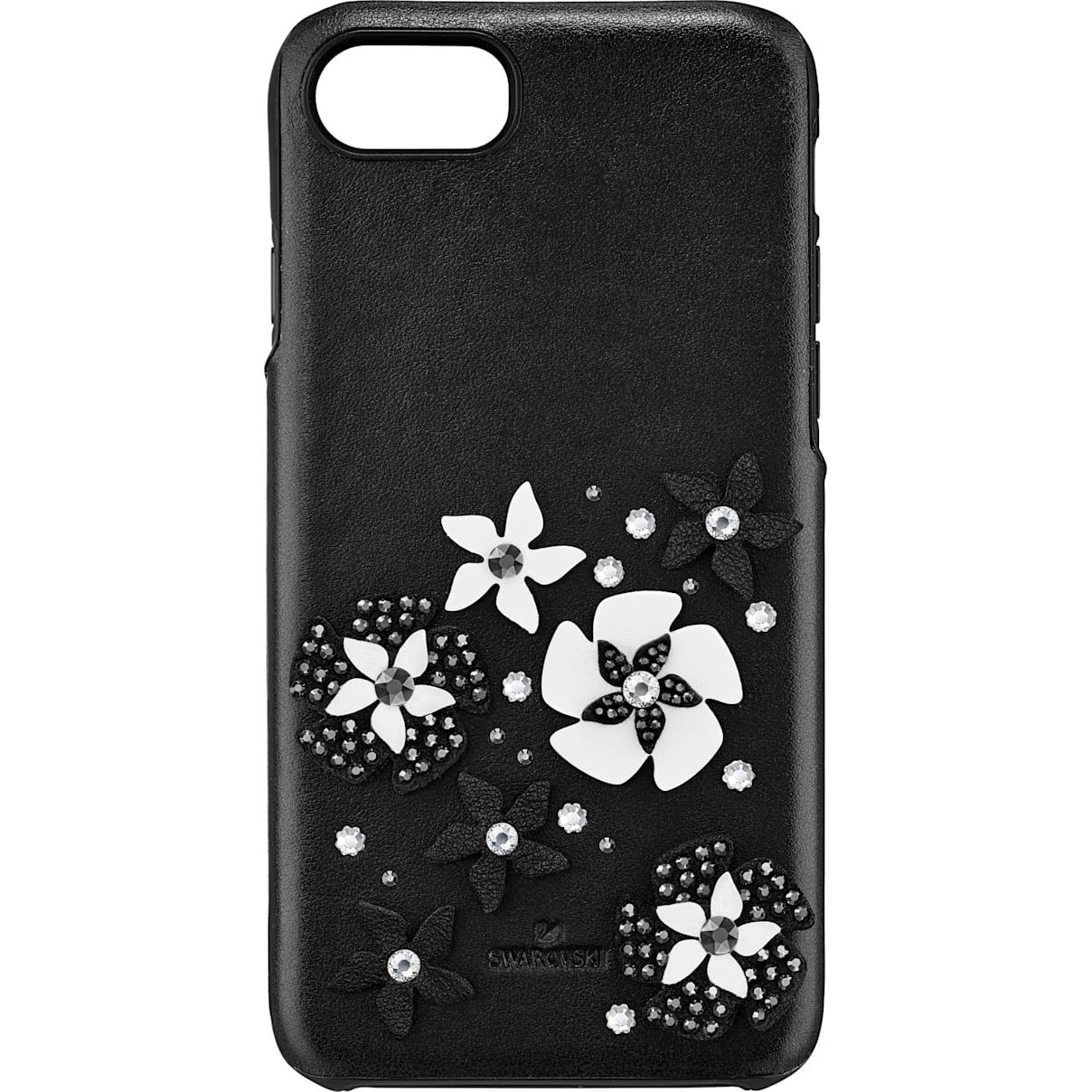 Swarovski Mazy Smartphone Case with integrated Bumper, iPhone® 8, Black