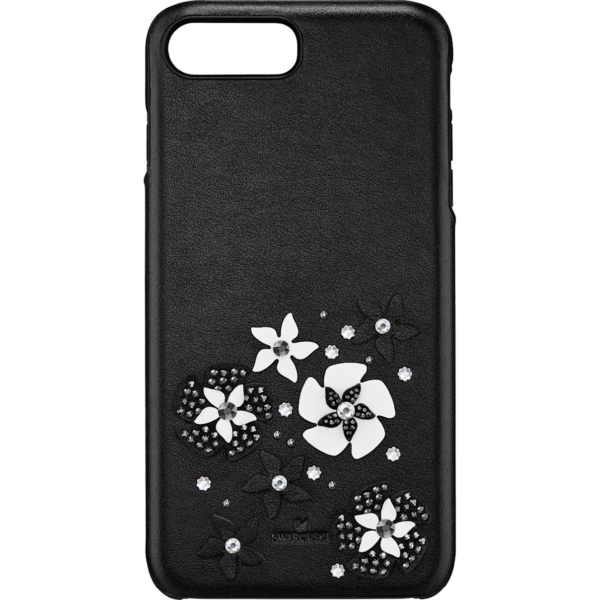Swarovski Mazy Smartphone Case with integrated Bumper, iPhone® 8 Plus, Black