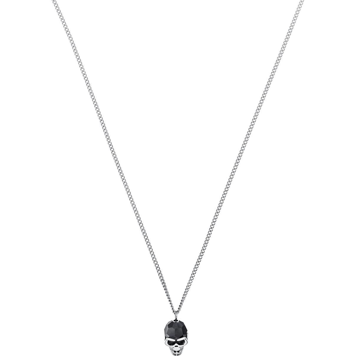 Swarovski Taddeo Pendant, Black, Palladium plated