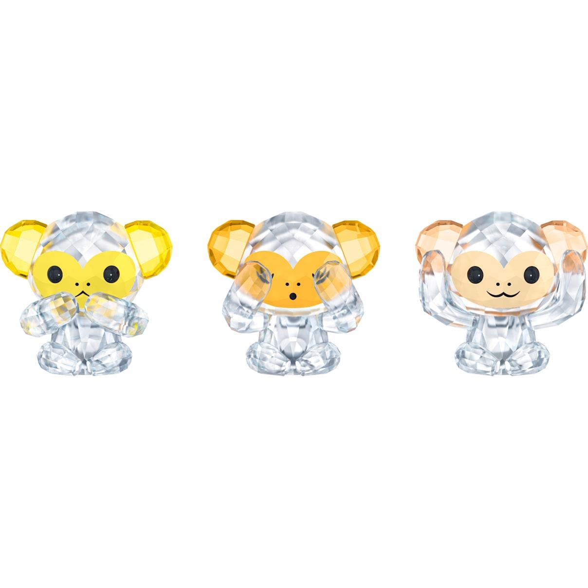 Swarovski Three Wise Monkeys