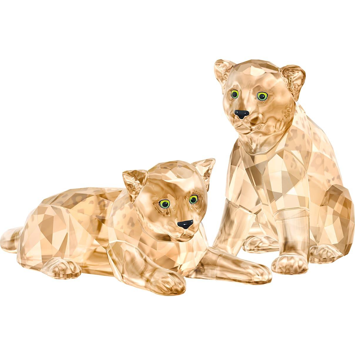 Swarovski SCS Amur Leopard Cubs