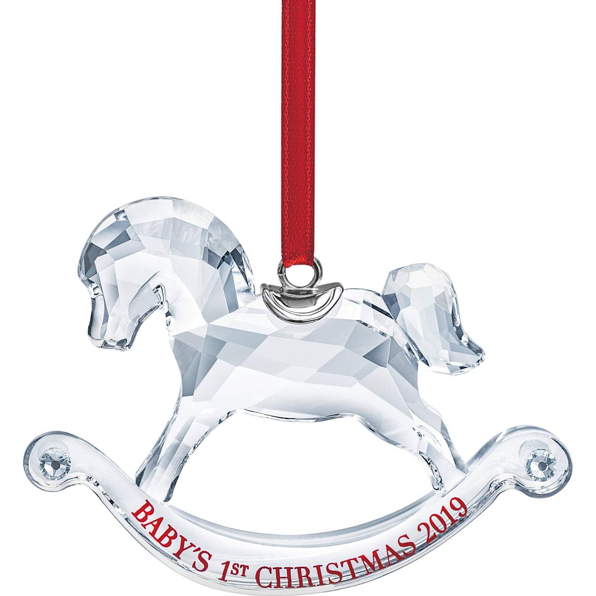 Swarovski Baby's 1st Christmas Ornament, A.E. 2019