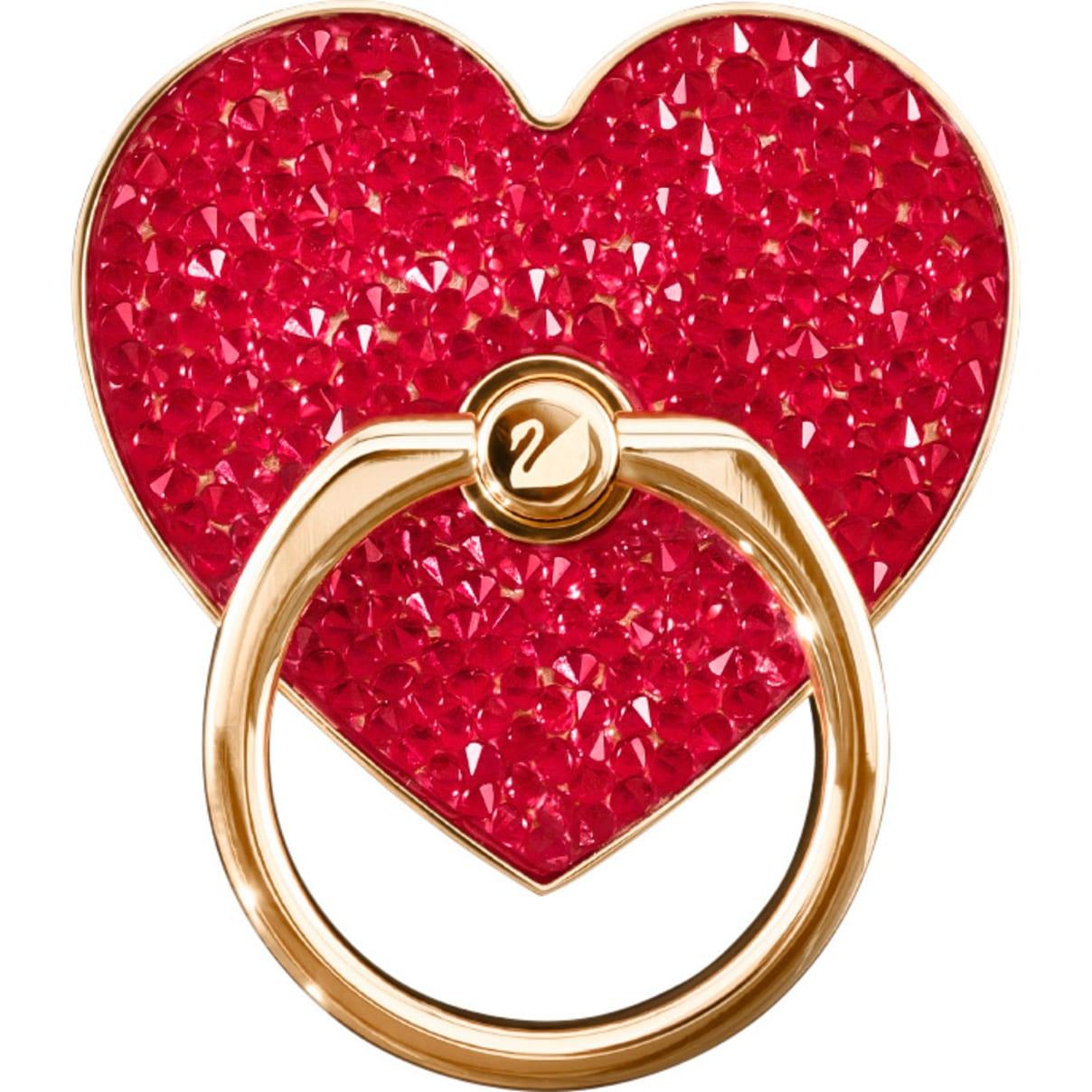 Swarovski Glam Rock Ring Sticker, Red, Mixed plating