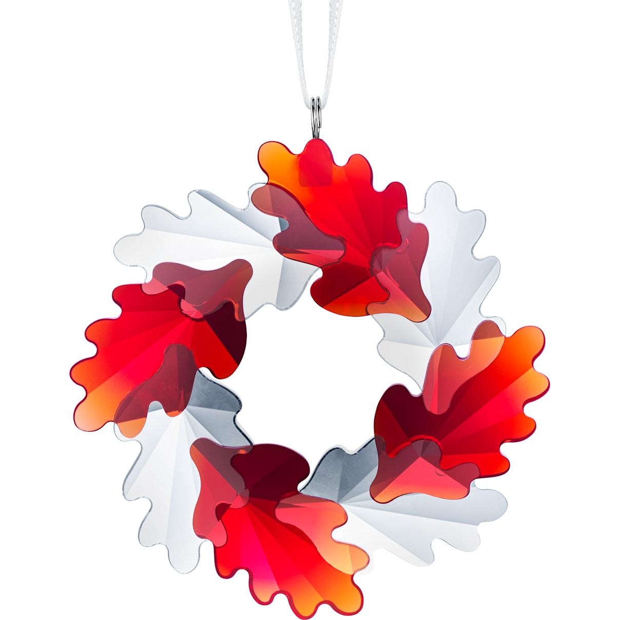 Swarovski Wreath Ornament, Leaves
