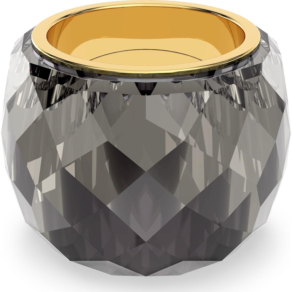 Swarovski Swarovski Nirvana Ring, Gray, Gold-tone PVD