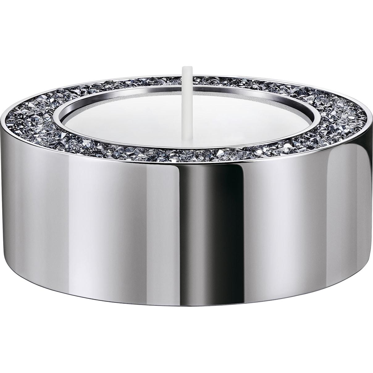 Swarovski Minera Tea Light Holder, Small, Silver tone