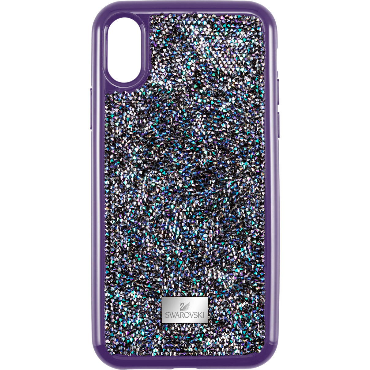 Swarovski Glam Rock Smartphone case with Bumper, iPhone® XR, Purple