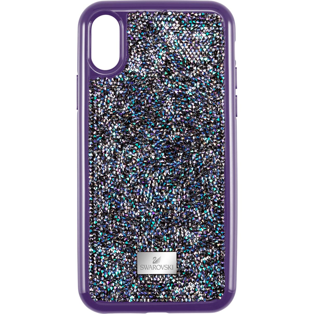 Swarovski Glam Rock Smartphone case with Bumper, iPhone® XS Max, Purple
