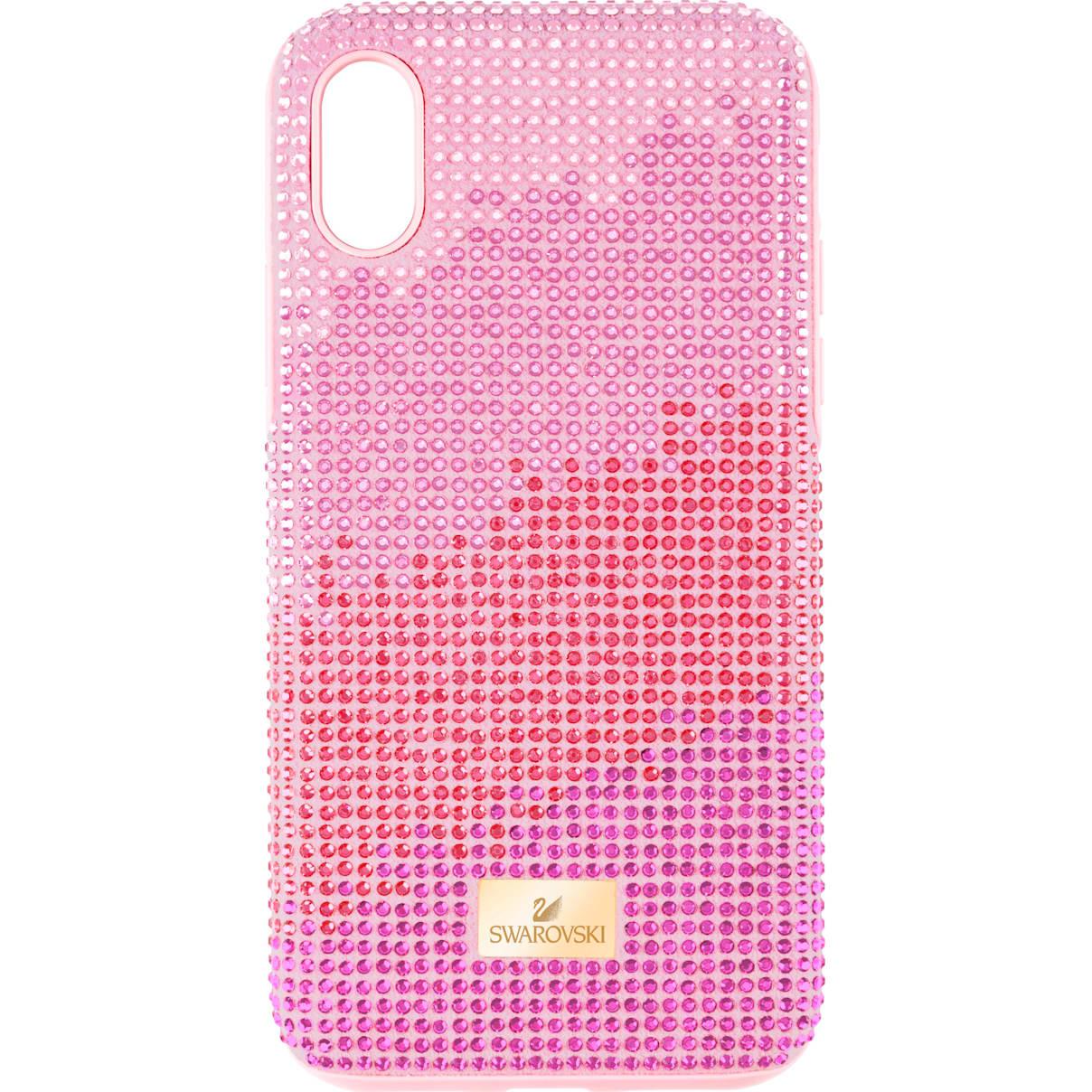 Swarovski High Love Smartphone case with Bumper, iPhone® XR, Pink