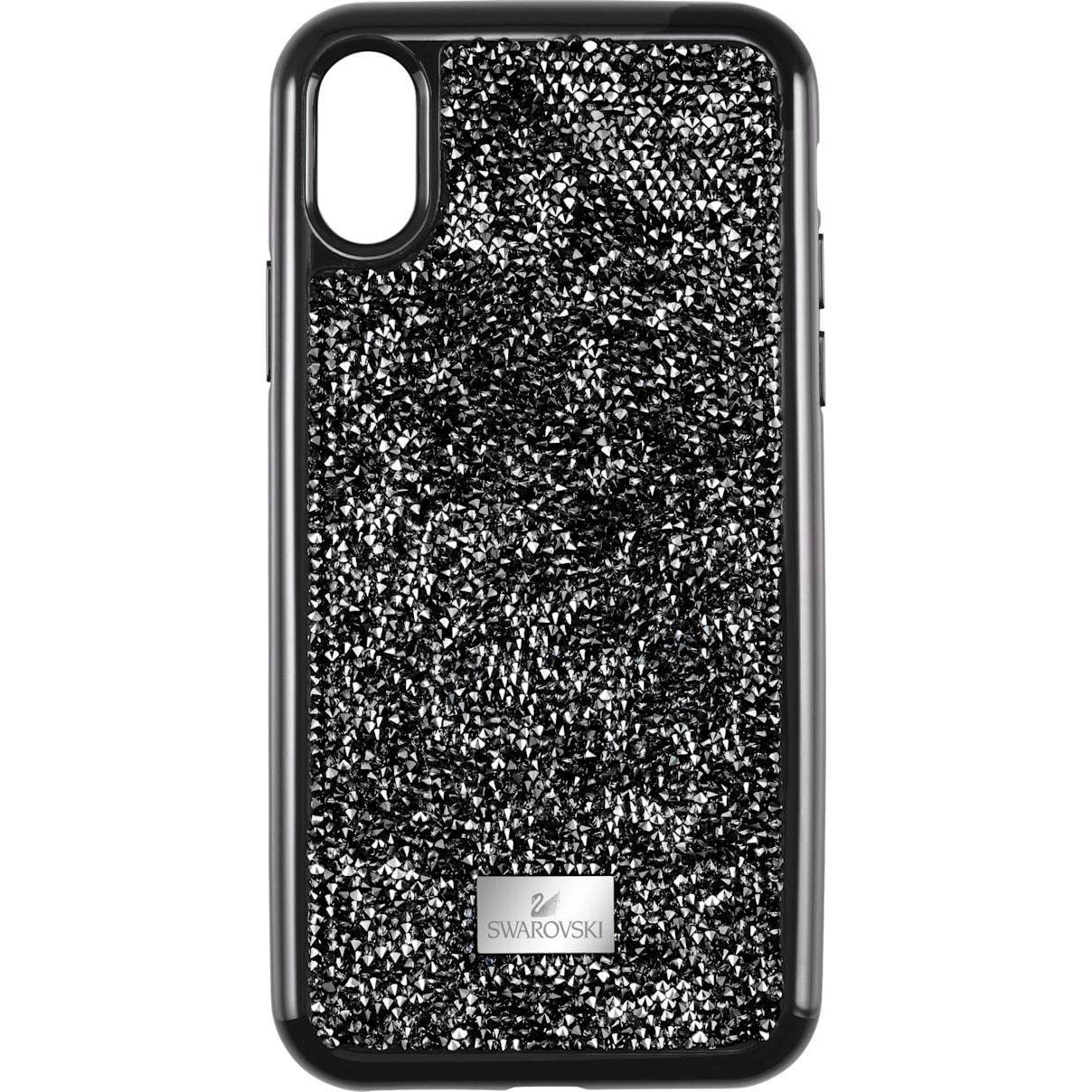 Swarovski Glam Rock Smartphone Case with Bumper, iPhone® XR, Black