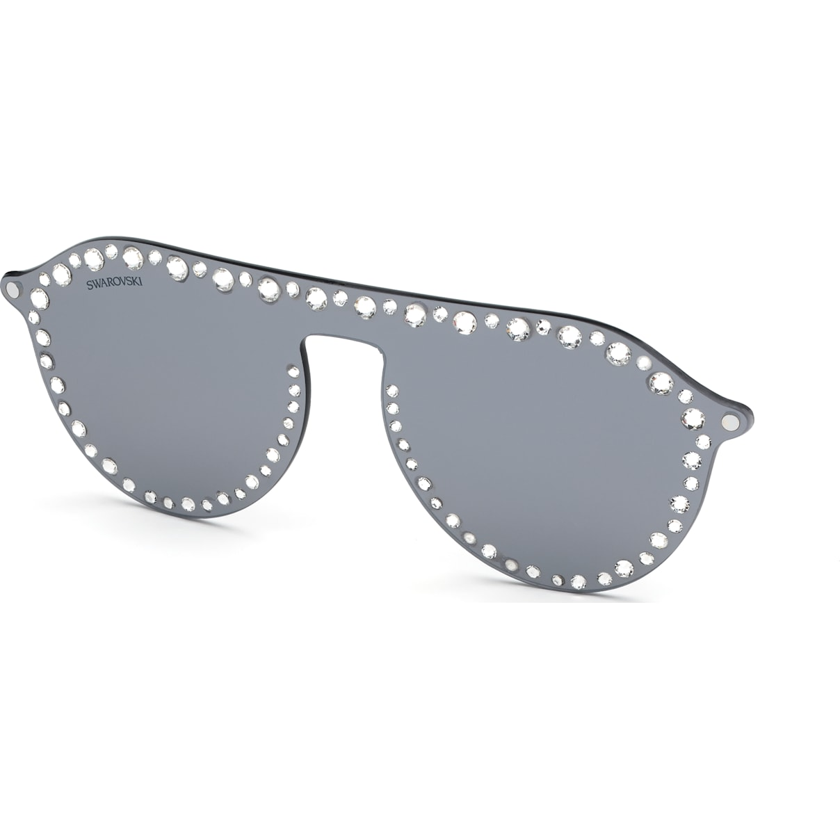 Swarovski Swarovski Click-on Mask for Sunglasses, SK5329-CL 16C, Gray