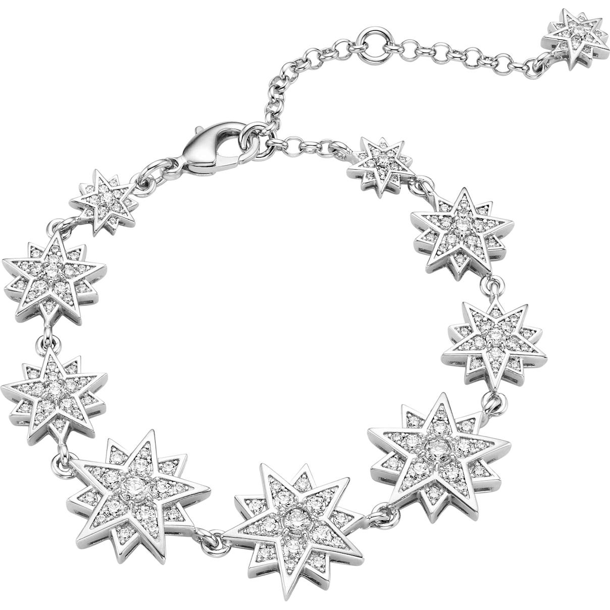 Swarovski Penélope Cruz Moonsun Bracelet, Limited Edition, White, Rhodium plated