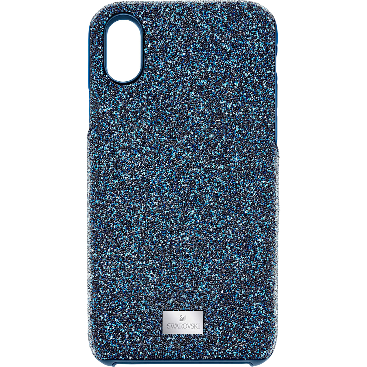 Swarovski High Smartphone Case with integrated Bumper, iPhone® X/XS, Blue