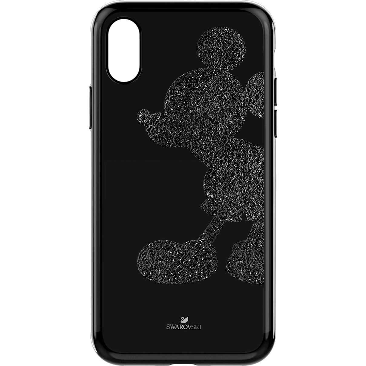 Swarovski Mickey Body Smartphone Case with integrated Bumper, iPhone® X/XS, Black