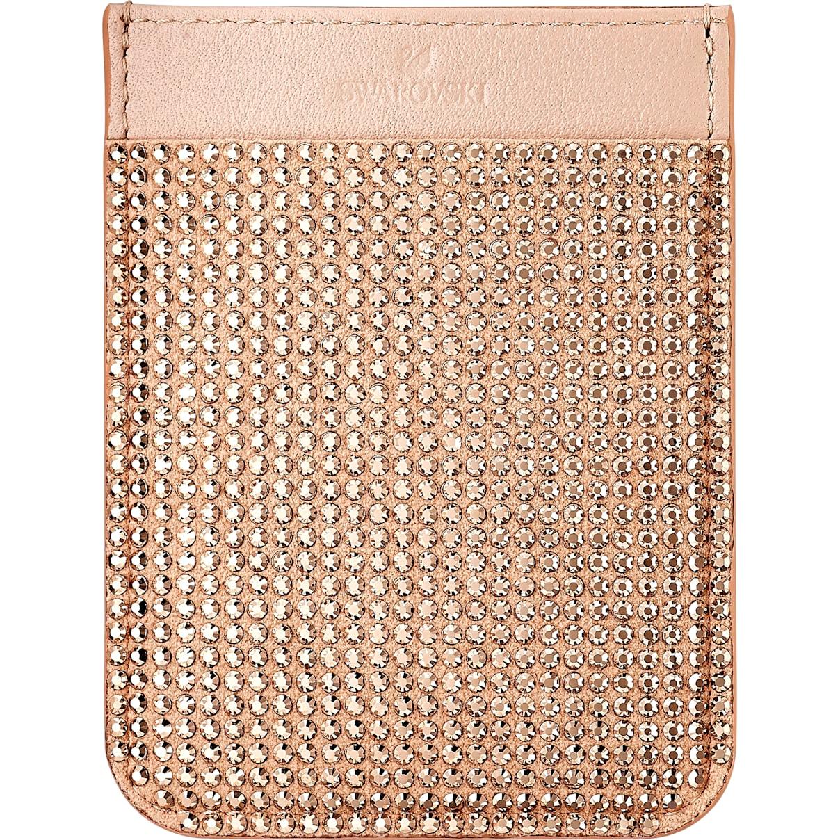 Swarovski Swarovski Smartphone sticker pocket, Rose Gold