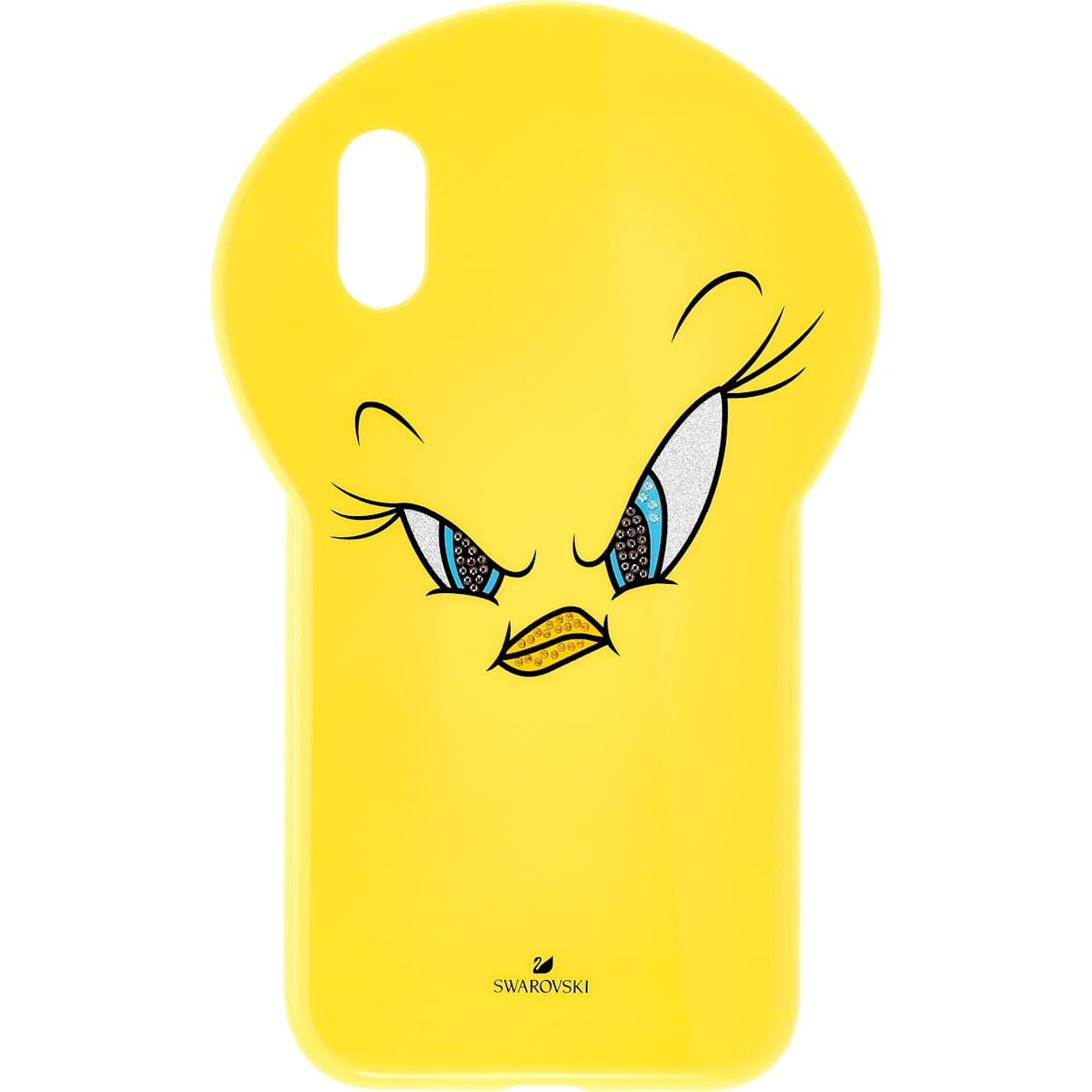 Swarovski Looney Tunes Tweety Smartphone Case, iPhone® XR, Yellow