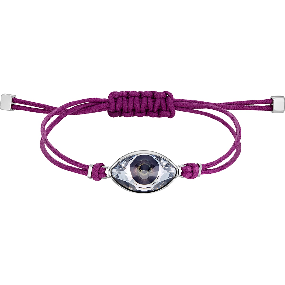 Swarovski Swarovski Power Collection Evil Eye Bracelet, Purple, Stainless steel