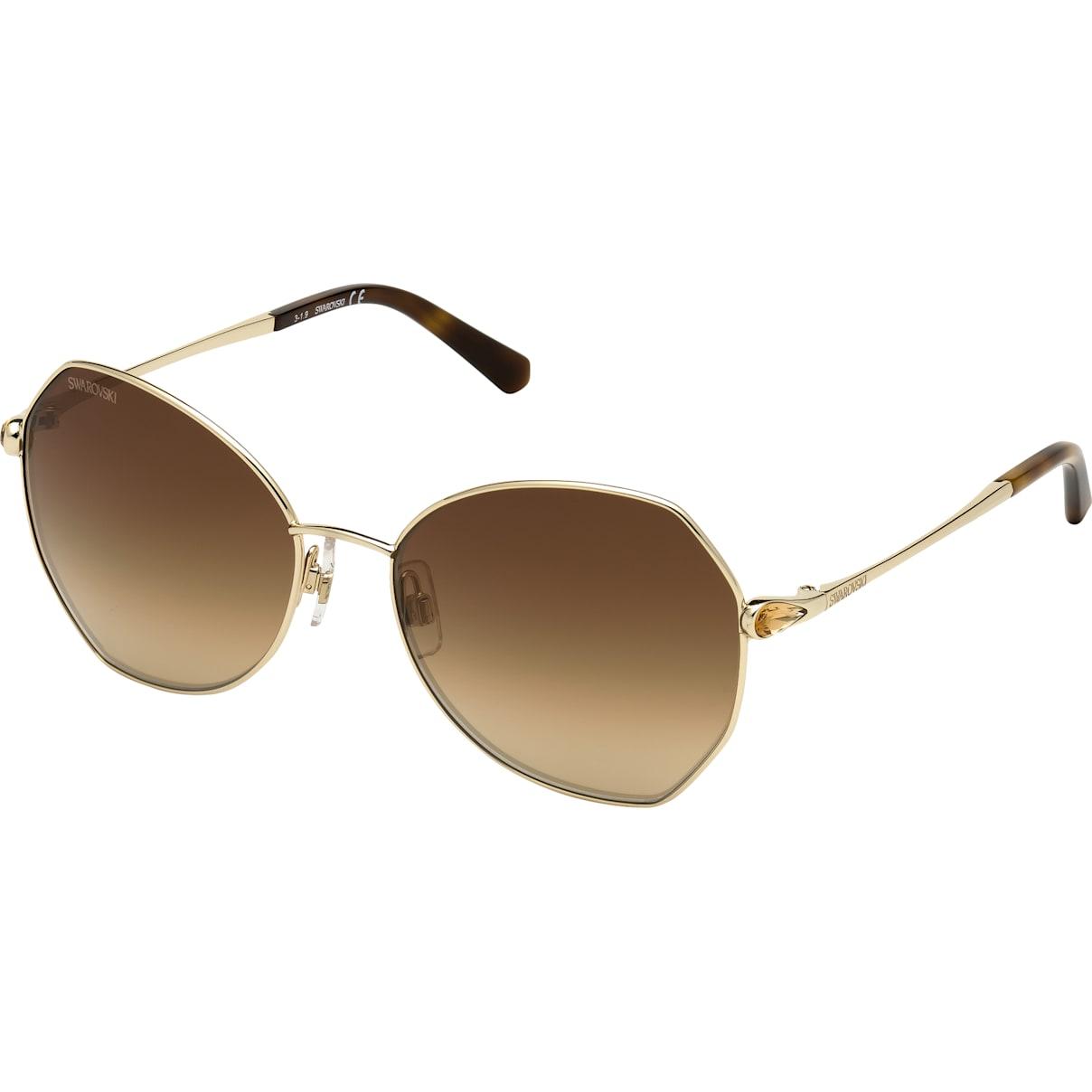 Swarovski Swarovski Sunglasses, SK266 - 32G, Brown