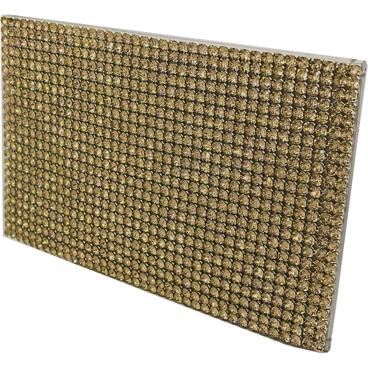 Swarovski Marina Card Holder, Golden
