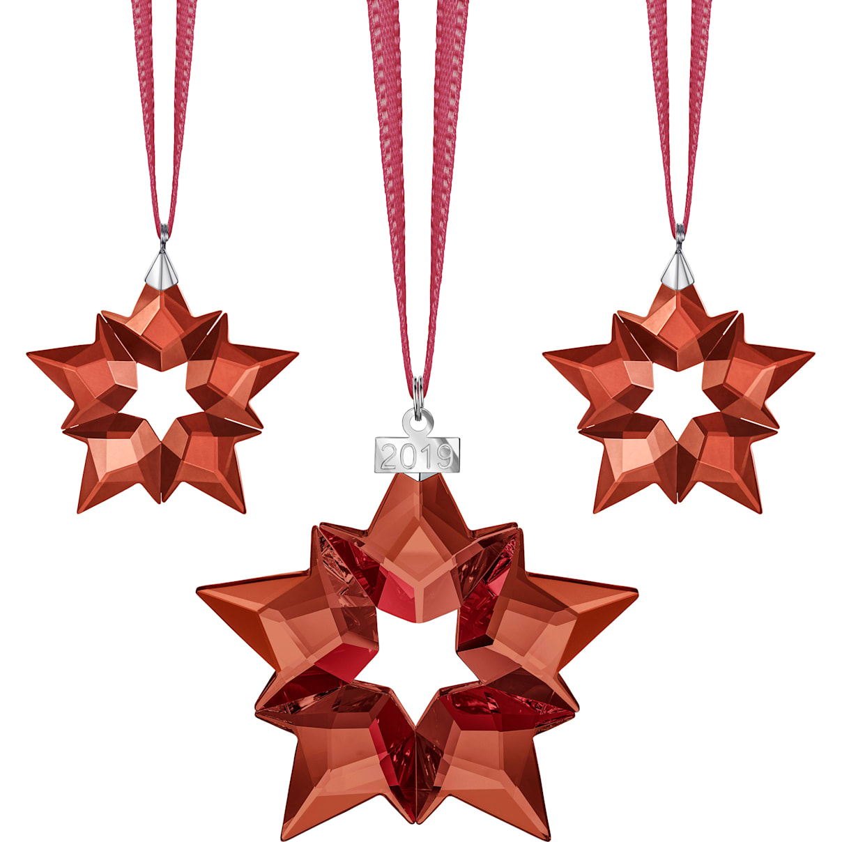 Swarovski Online Holiday Ornament Set 2019