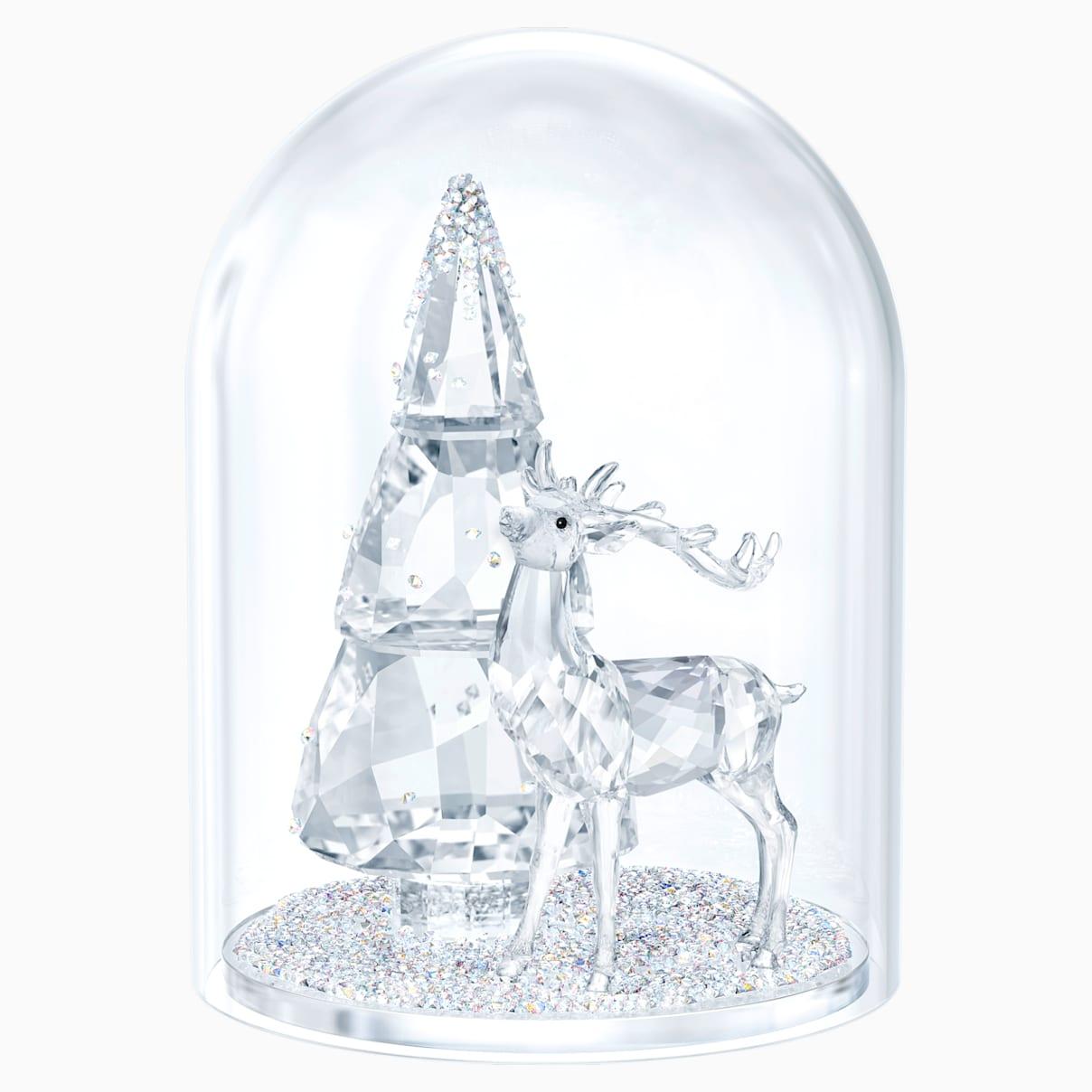 Cloche de verre – pin cerf