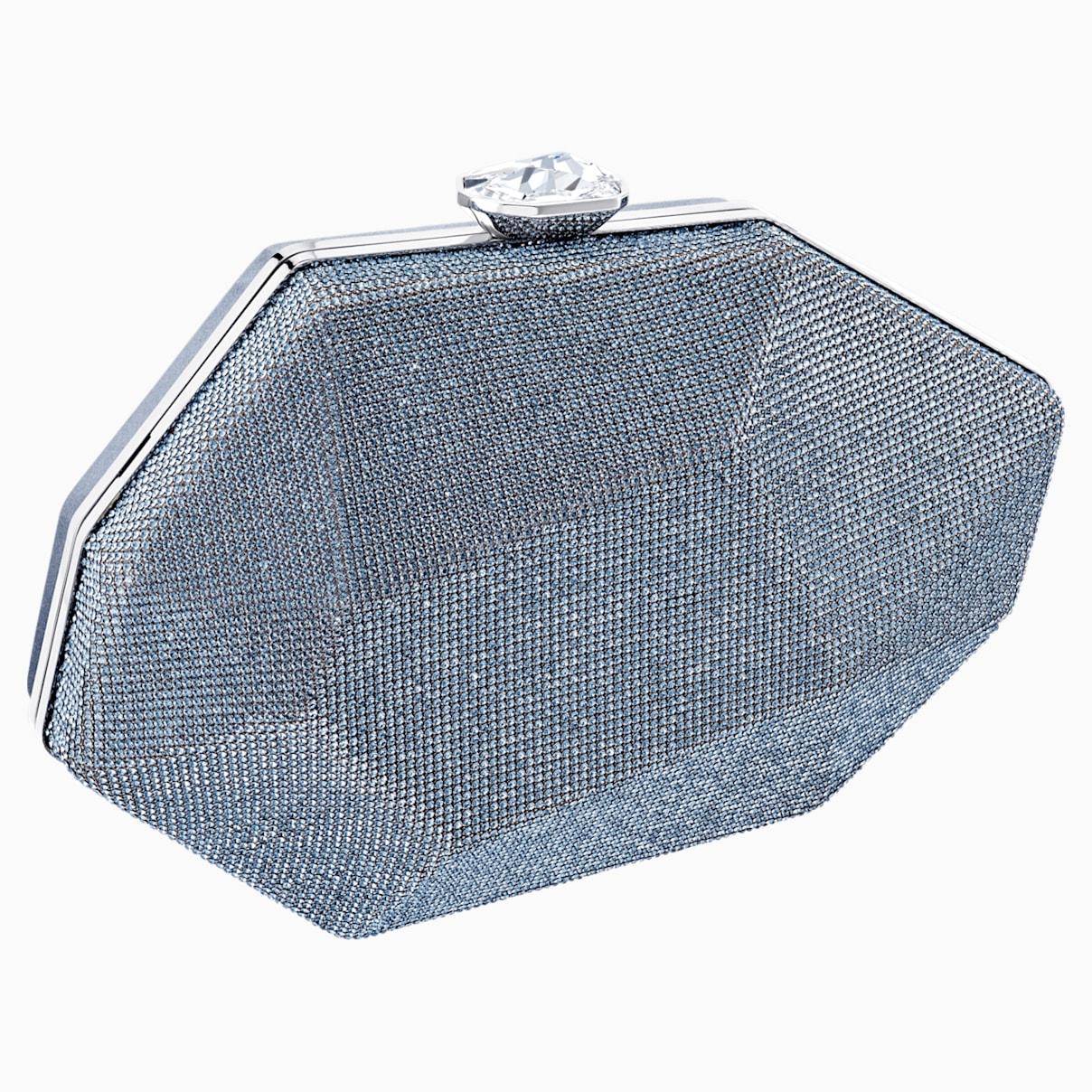 Sac Marina, bleu, métal plaqué palladium